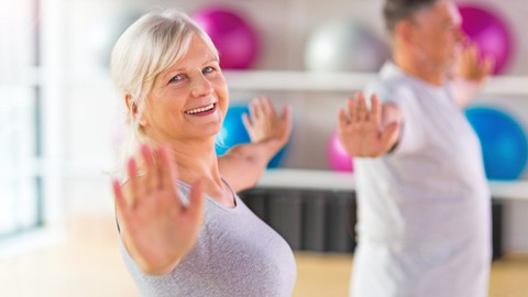 Aerobics for Seniors and Beginners Teacher Training Diploma