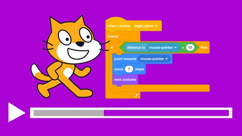 Scratch coding for kids - Optical illusion & pattern effects