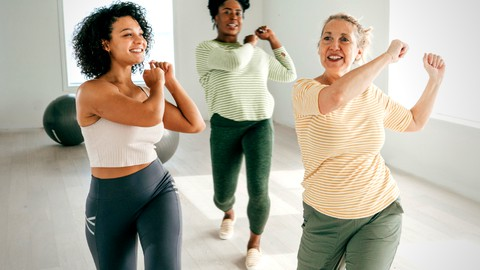 Aerobics for Seniors and Beginners Teacher Training Level 2