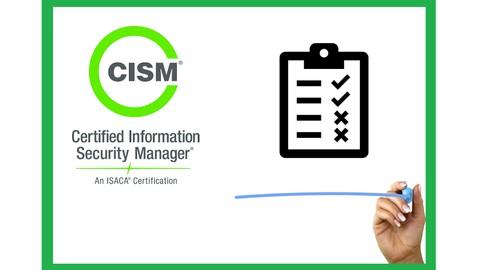 NEW! 4 CISM Test Exam 2021 ENGLISH (ISACA)
