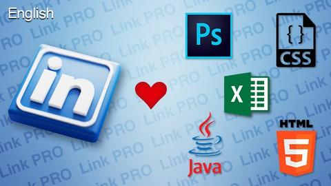 LinkedIn Quiz Adobe Photoshop HTML CSS JS Microsoft Excel