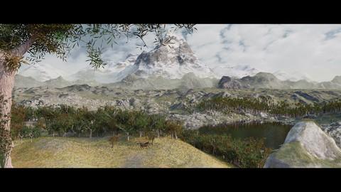 Realizzare paesaggi virtuali in Blender