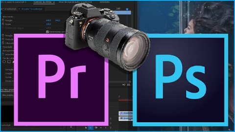 Design Gráfico e Editor de Vídeo -COMBO Premiere + Photoshop