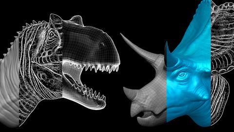 初心者向けZbrushモデリングと3Dプリント講座【恐竜編】