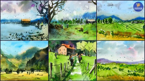 Planning Your Painting: Plan, Sketch and Paint 6 Paintings