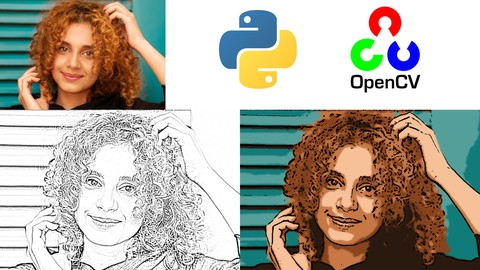 OpenCV Starter Project - Pencil Sketch and Cartoon Paint