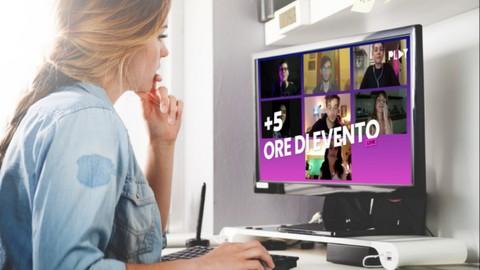 Creare un evento online da zero