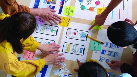 Master Digital Product Design: UX Research & UI Design 2021