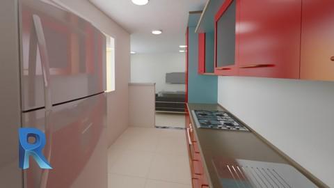 Curso Revit Architecture Render para interiores