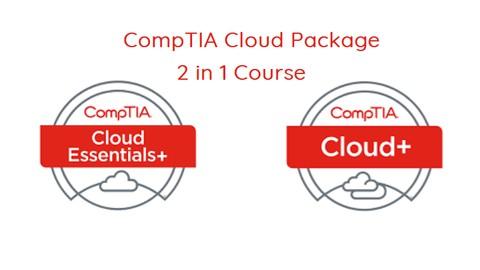 CompTIA Cloud Essentials+ (CLO-002) & Cloud+ (CV0-002) -2in1