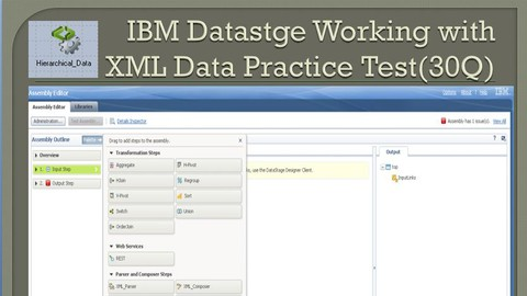 IBM Datastage ETL Working with XML Data (Hierarchical Stage)