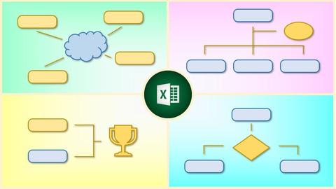 Flussdiagramme und Organigramme mit Excel einfach erstellen