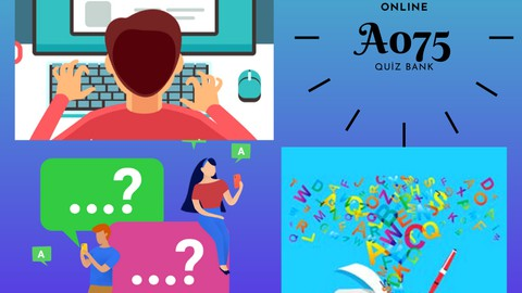English Word Placement and Grammar Test - Quiz Bank A075