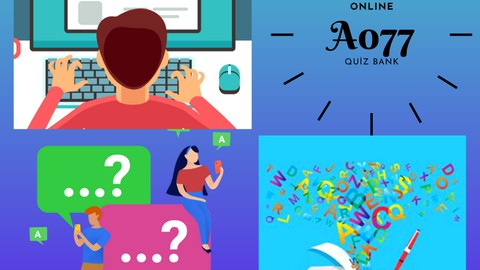 English Word Placement and Grammar Test - Quiz Bank A077