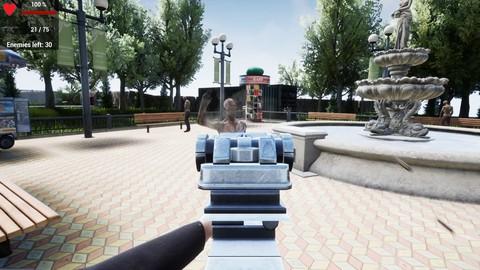 Шутер от первого лица на Unreal Engine с нуля для начинающих