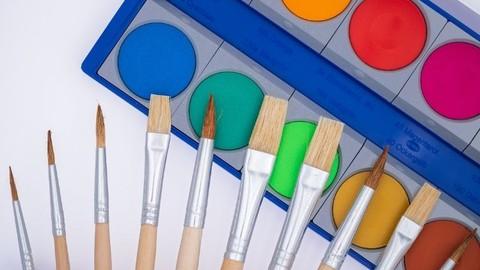 pittura ad acquerello per ragazzi e bambini
