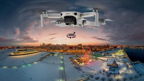 Fotografía 360 aérea con dron: ¡retócala como un crack!