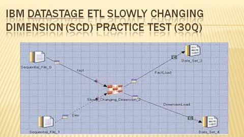 IBM DataStage ETL Slowly Changing Dimension Practice Test