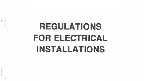 Regulation for Electrical Installations