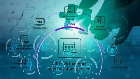 Citrix Virtual Apps and Desktops Administration Exam 2021