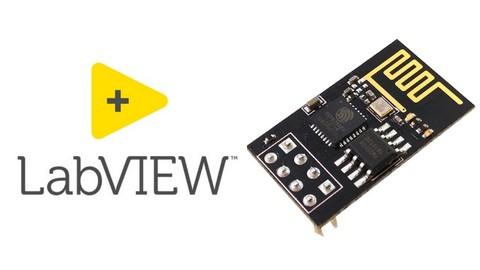 LabVIEW meets ESP8266 ESP-01