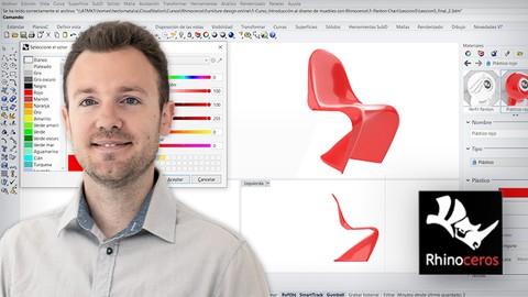 Introducción al diseño de muebles con Rhinoceros 3D | 2021