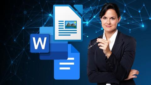 Procesamiento de texto profesional con Word, Writer y Docs