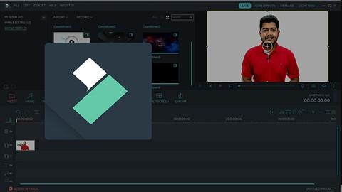 WonderShare Filmora X:  Basic Video Editing For Beginners
