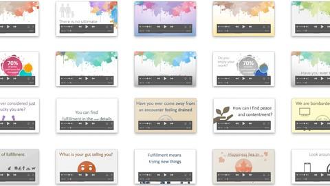 20 segments vidéo sur la recherche d'accomplissement