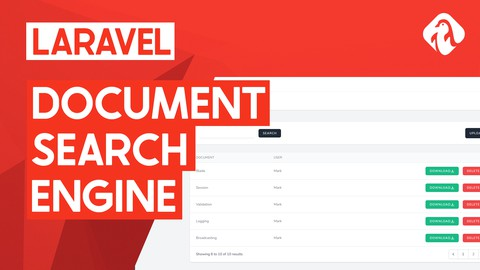 Create a document search system in Laravel