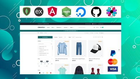 Crea una tienda online profesional, Ecommerce con MEAN STACK