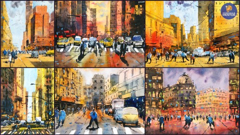 How to Paint Street Scenes in Watercolour