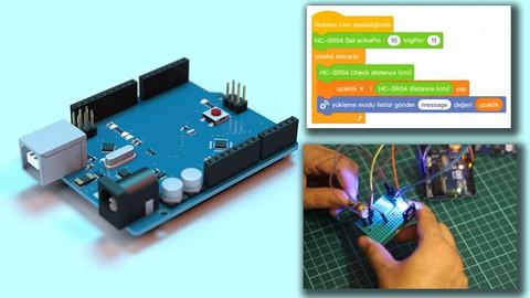 Sıfırdan Arduino Öğrenin - Mblock 5 ve Tinkercad Simülatör