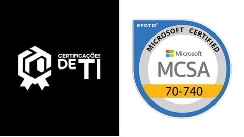 134 Questions Microsoft 70-740