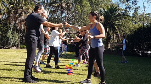 Fitness Games for Groups!