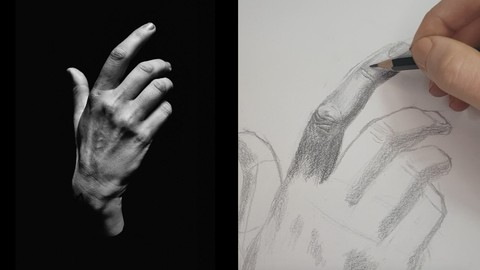 How To Draw A Hand Using Three Shapes