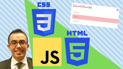 Responsive Navbar using HTML, CSS and JavaScript
