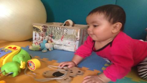 Adaptación de juguetes para estimulación temprana.