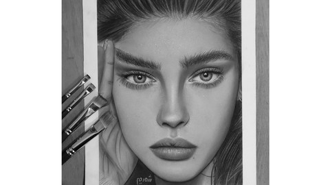 Complete portrait drawing from beginner to advanced