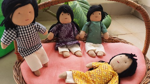 Bendy Doll Making - a doll with life