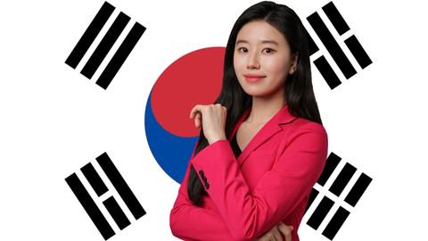Korean vocabulary, grammar, speaking package for Beginner 1B