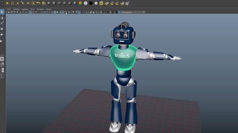 Базовый курс Autodesk Maya