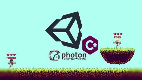 صناعة ألعاب متعددة اللاعبين بي Unity & Photon Network.