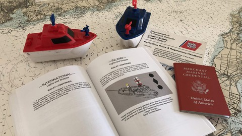 Nautical Rules of the Road (COLREGS) for Coast Guard Exams