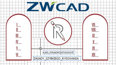 ZWCAD Ponadpodstawowy - ZASADY SZYBKIEGO RYSOWANIA (RwC)