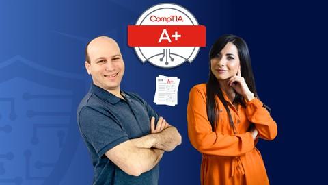 CompTIA A+ (220-1001) Exámenes de Practica (500+ preguntas)