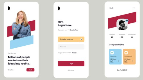 Artistic UI from Scratch with Flutter