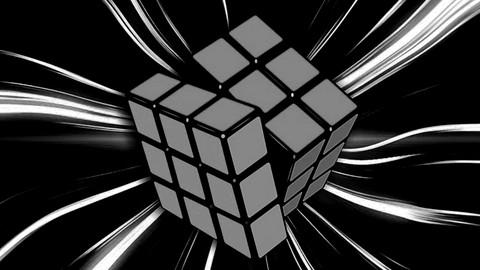 Cubo Mágico Mestre Monte de Olhos Vendados