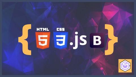 Der HTML5, CSS, Bootstrap 5 & JavaScript Entwicklerkurs 2021