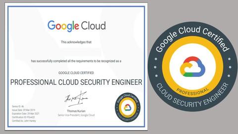 Google Professional Cloud Security Engineer (GCP) Exam